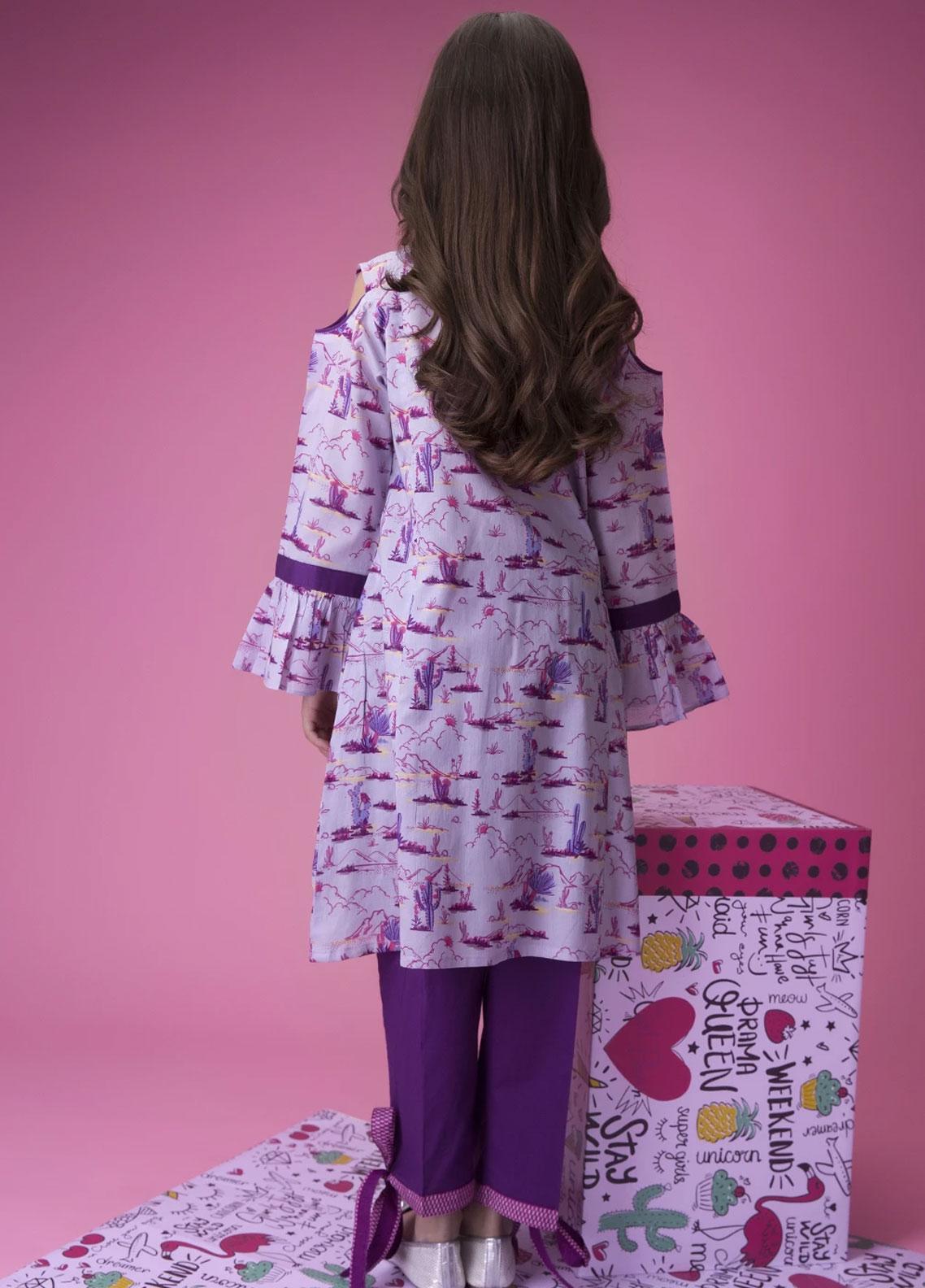 Areeba Saleem Embroidered Organza Unstitched 2 Piece Suit AS17C 06