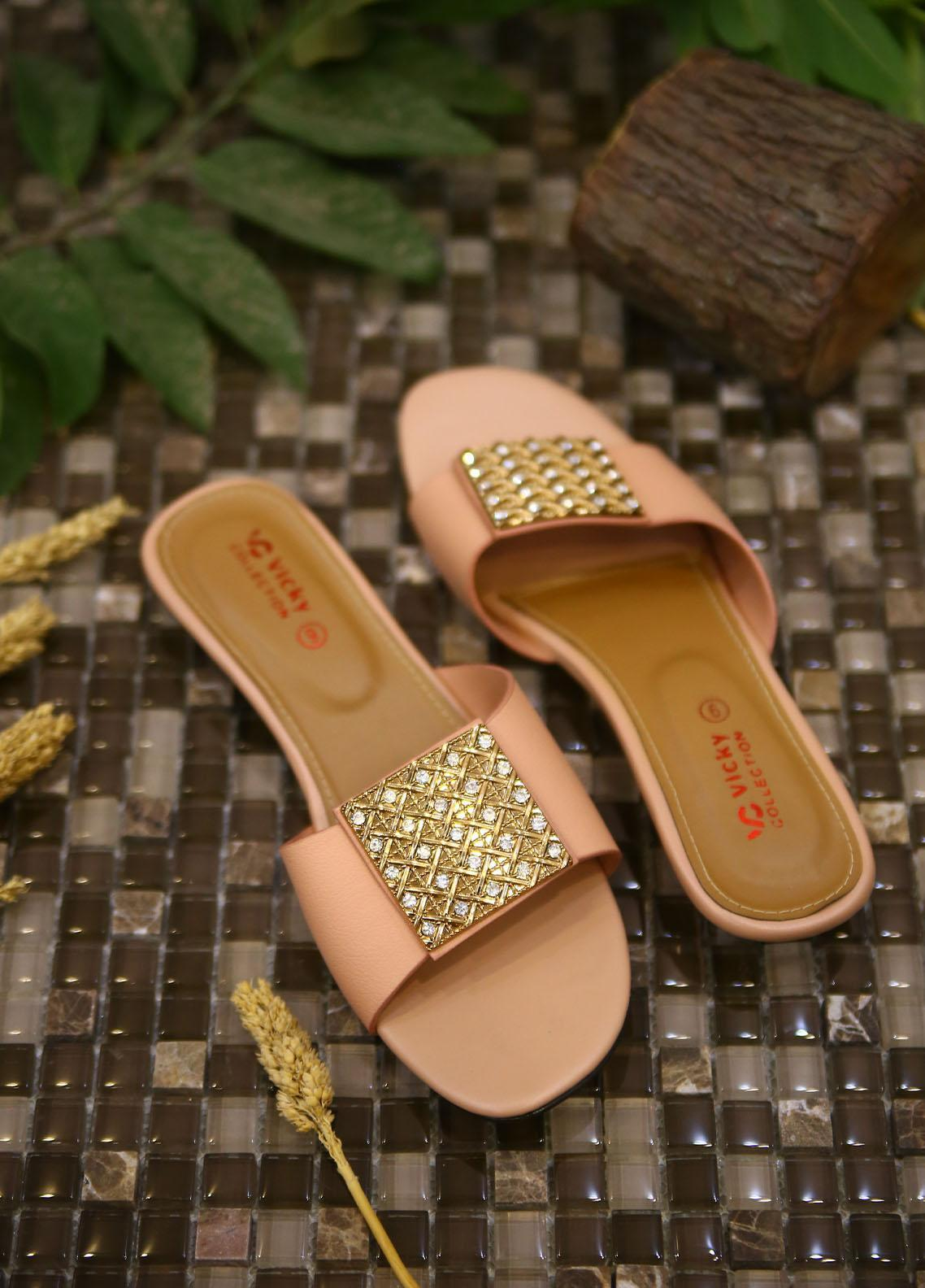1st Sight Fashion Casual Style  Flat  Vicky Flat 1 Pink