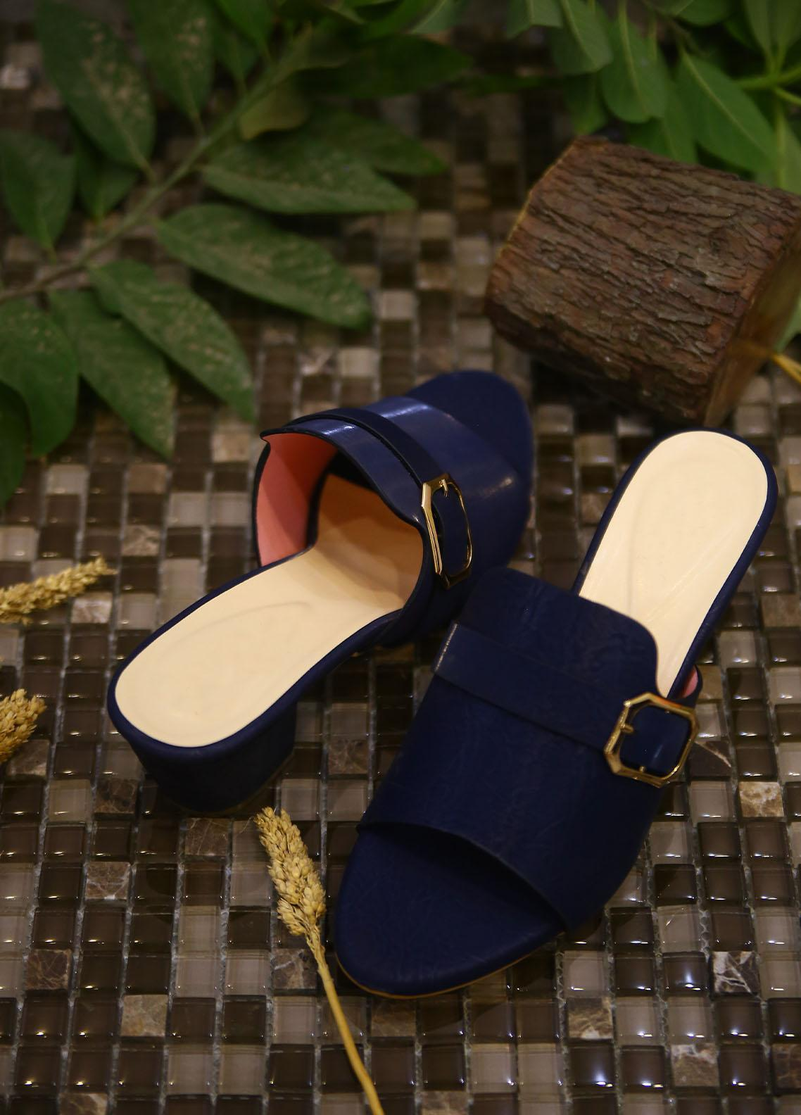 1st Sight Fashion Formal Style  Heel  Style & Style 6 Blue