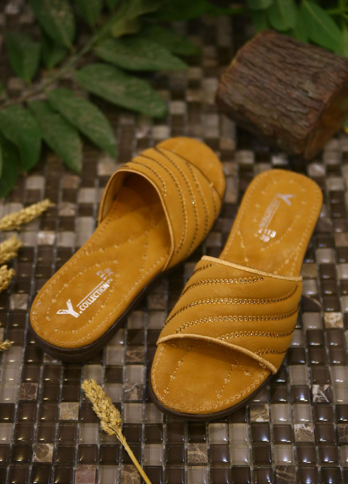 1st Sight Fashion Casual Style  Softy Shoes  Y Softy 13 Yellow