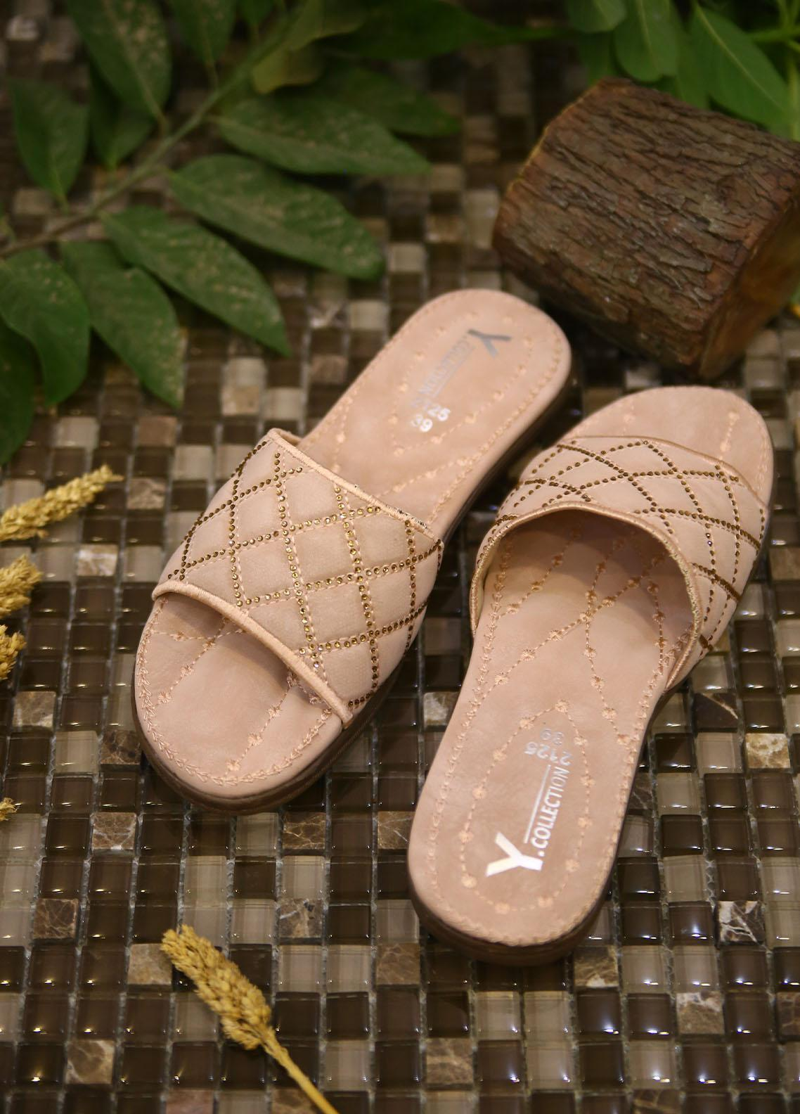 1st Sight Fashion Casual Style  Softy Shoes  Y Softy 14 Pink