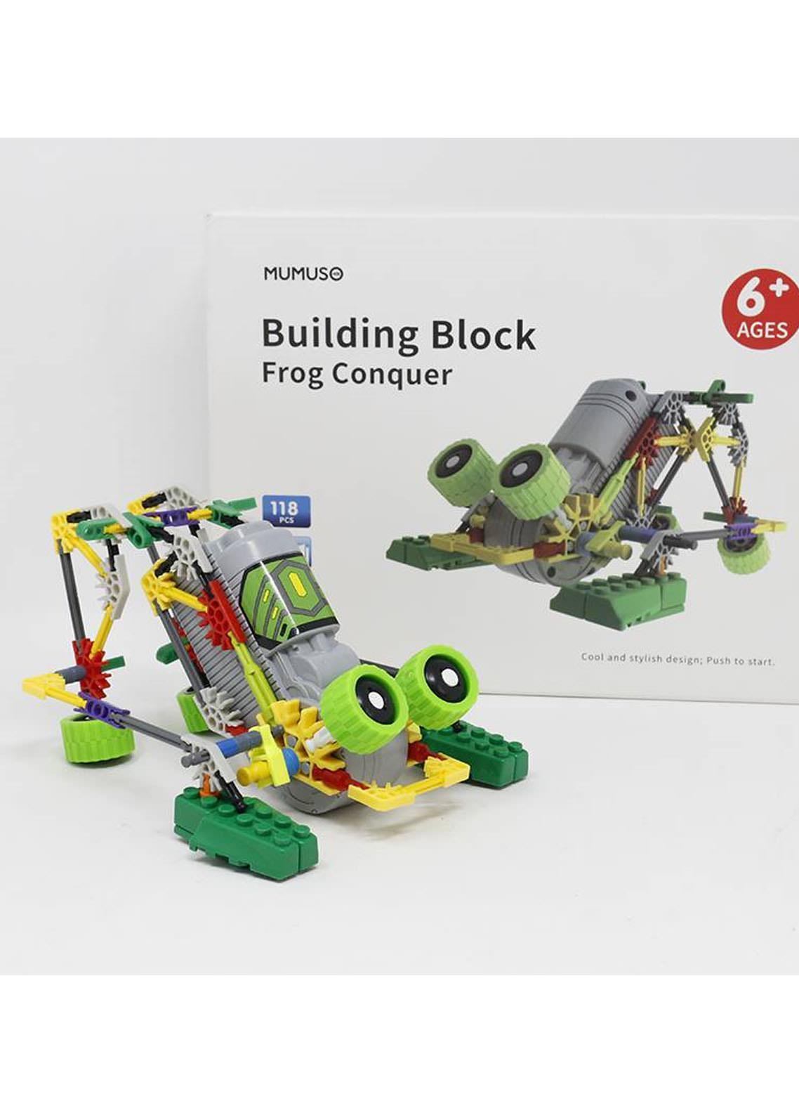 Mumuso BUILDING BLOCK-FROG CONQUER