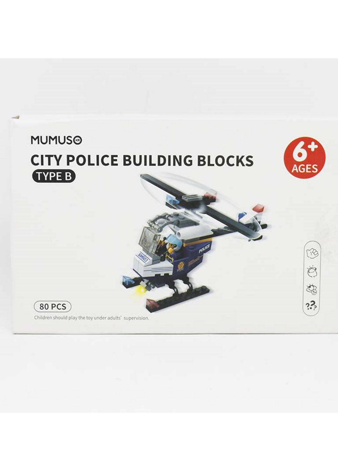 Mumuso City Police Building Blocks-Type A