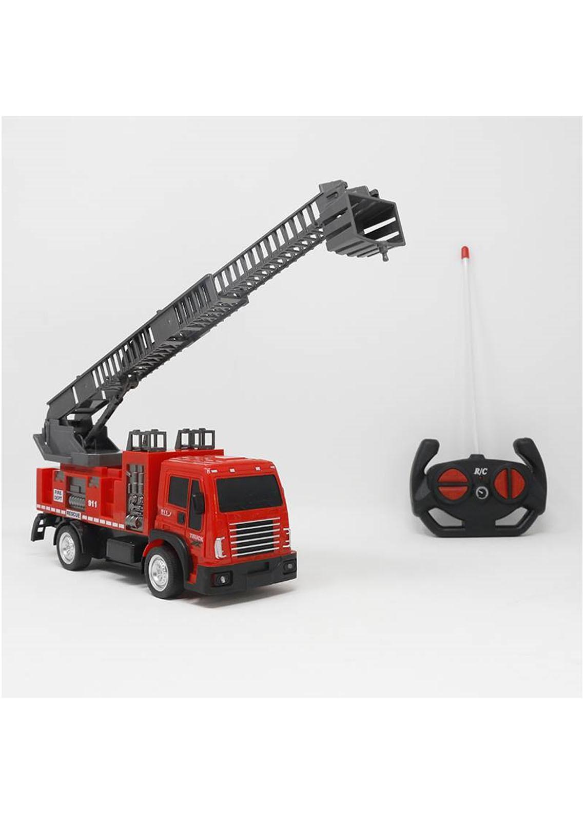 Mumuso REMOTE-CONTROL FIRE ENGINE TOY