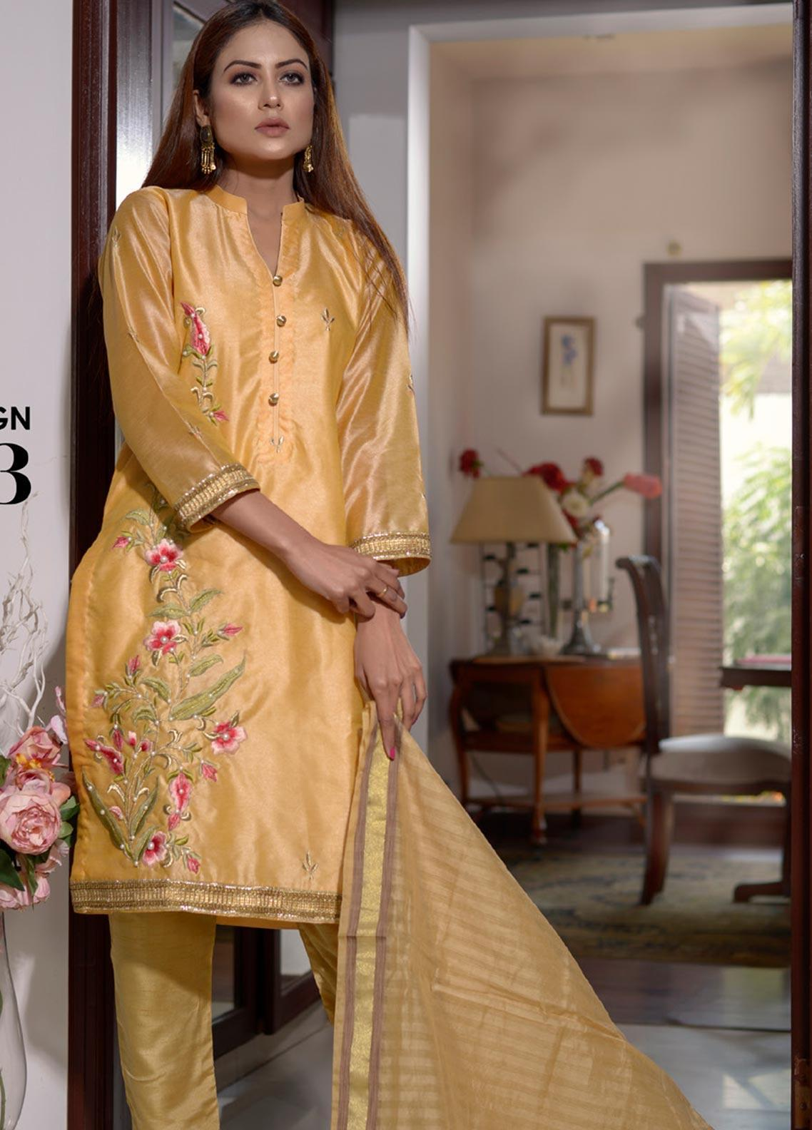 Elaheh Embroidered Khaadi Unstitched 3 Piece Suit ELH20AF 03 - Luxury Collection