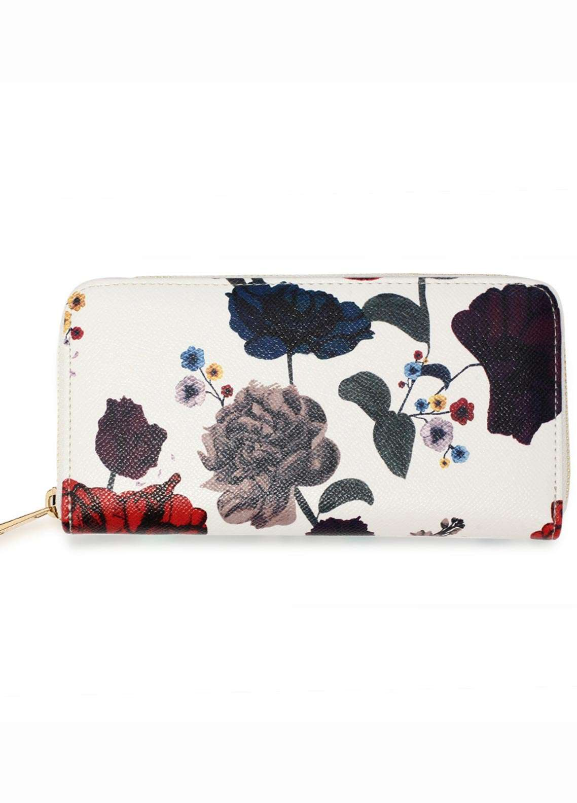 Anna Grace London Faux Leather Wallet for Women Multi with Smooth Texture|Grainy