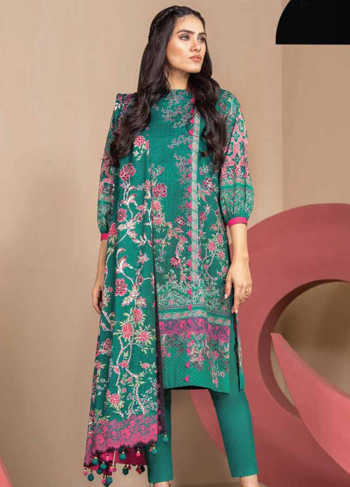 Al Karam Printed Lawn Unstitched 2 Piece Suit AK19-L2 18