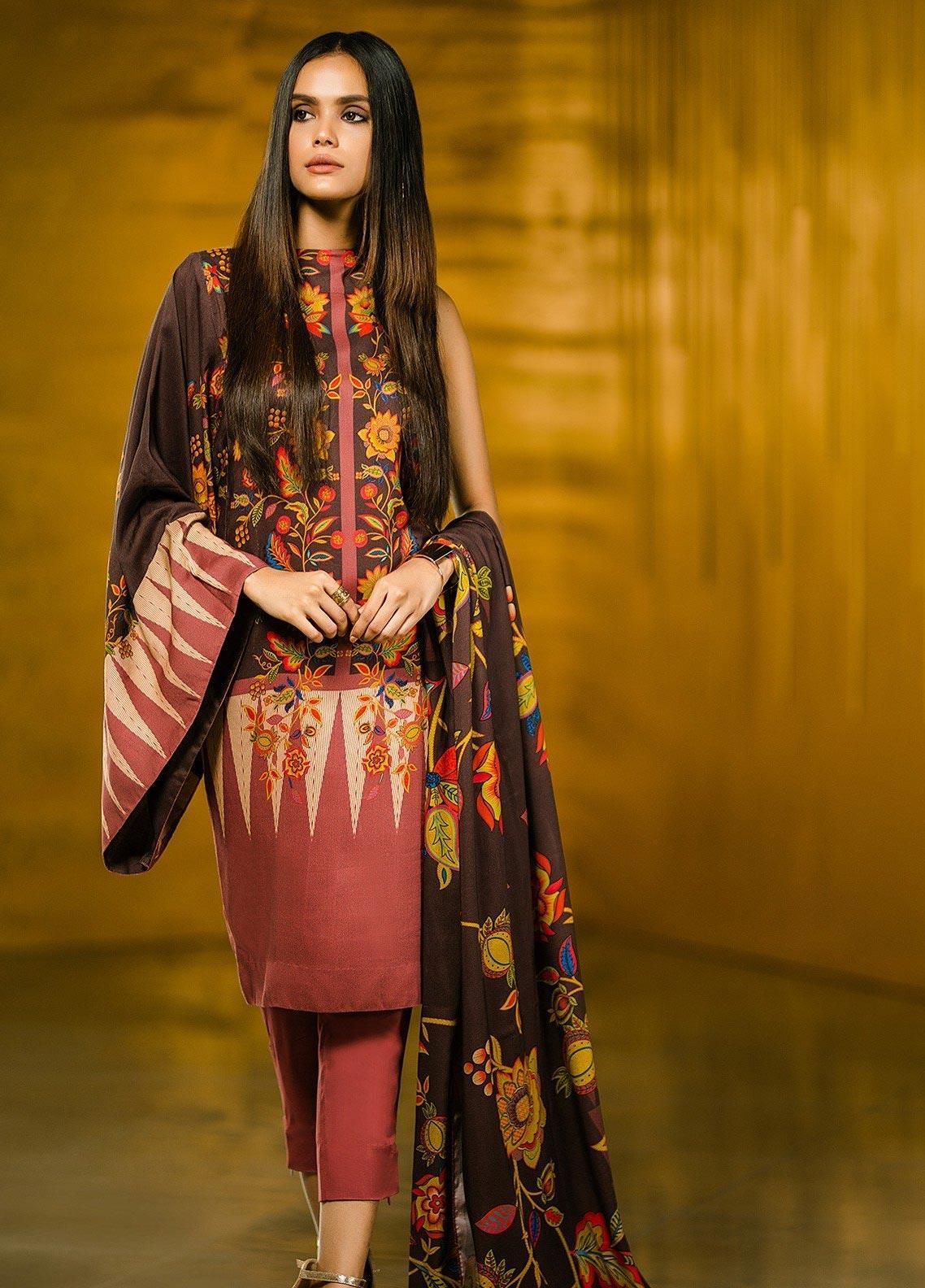 Al Karam Printed Lawn Unstitched 2 Piece Suit AK20SSL SS