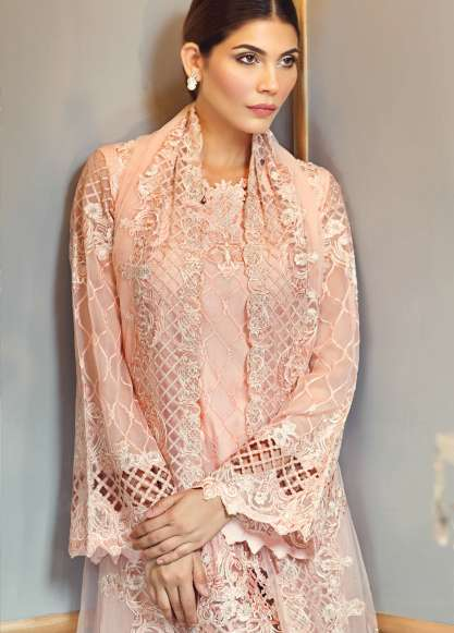 Anaya By Kiran Chaudhry Embroidered Chiffon Unstitched 3 Piece Suit AL17E2 02