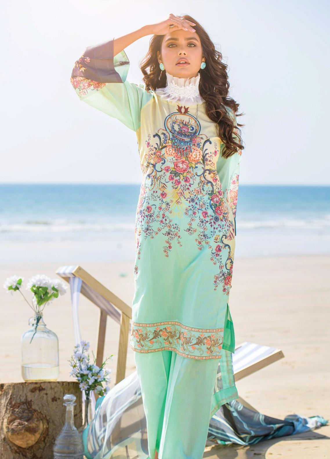 Allure by Mystique Embroidered Lawn Unstitched 3 Piece Suit MYS20A 02 - Spring / Summer Collection