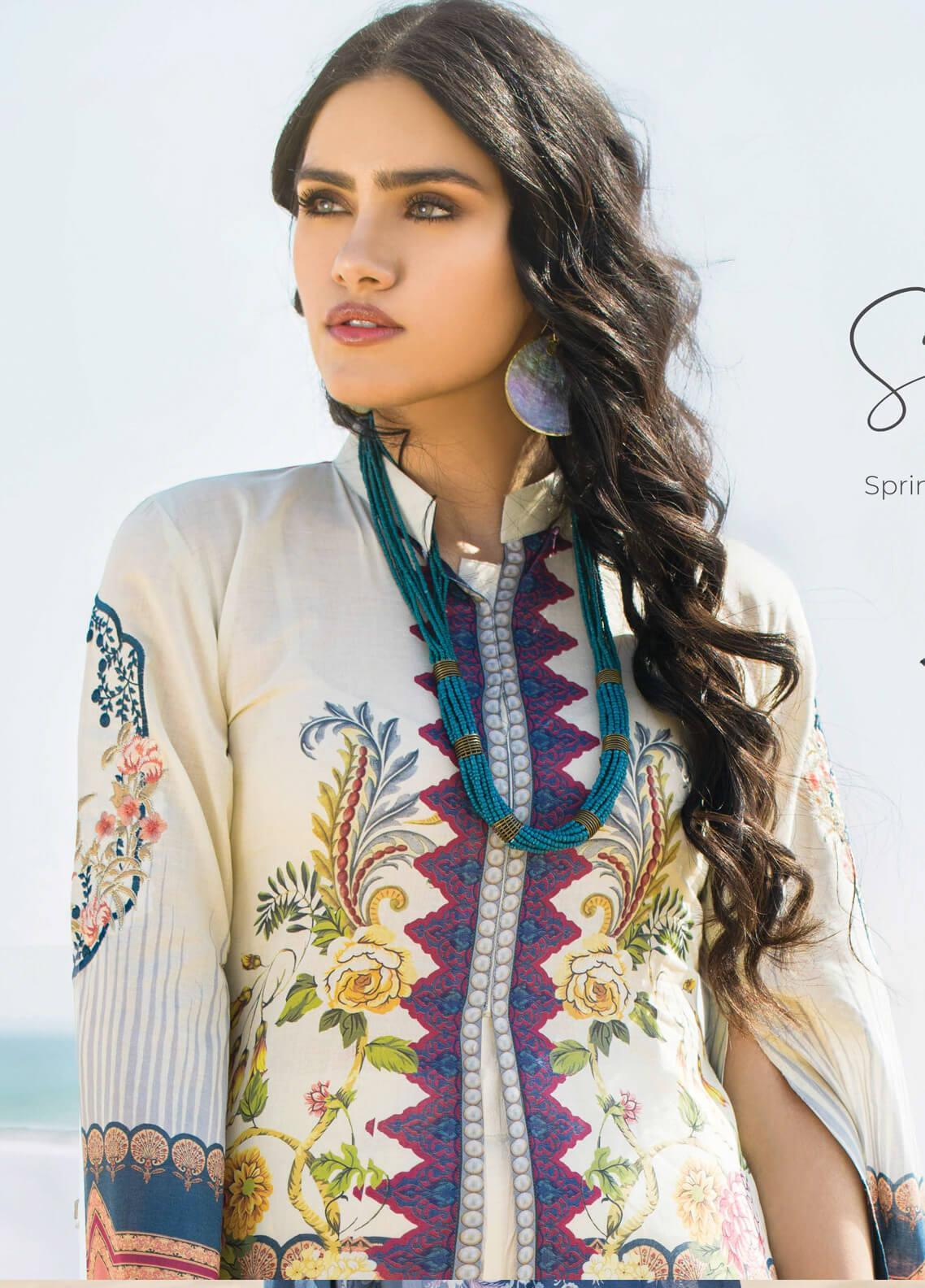 Allure by Mystique Embroidered Lawn Unstitched 3 Piece Suit MYS20A 04 - Spring / Summer Collection