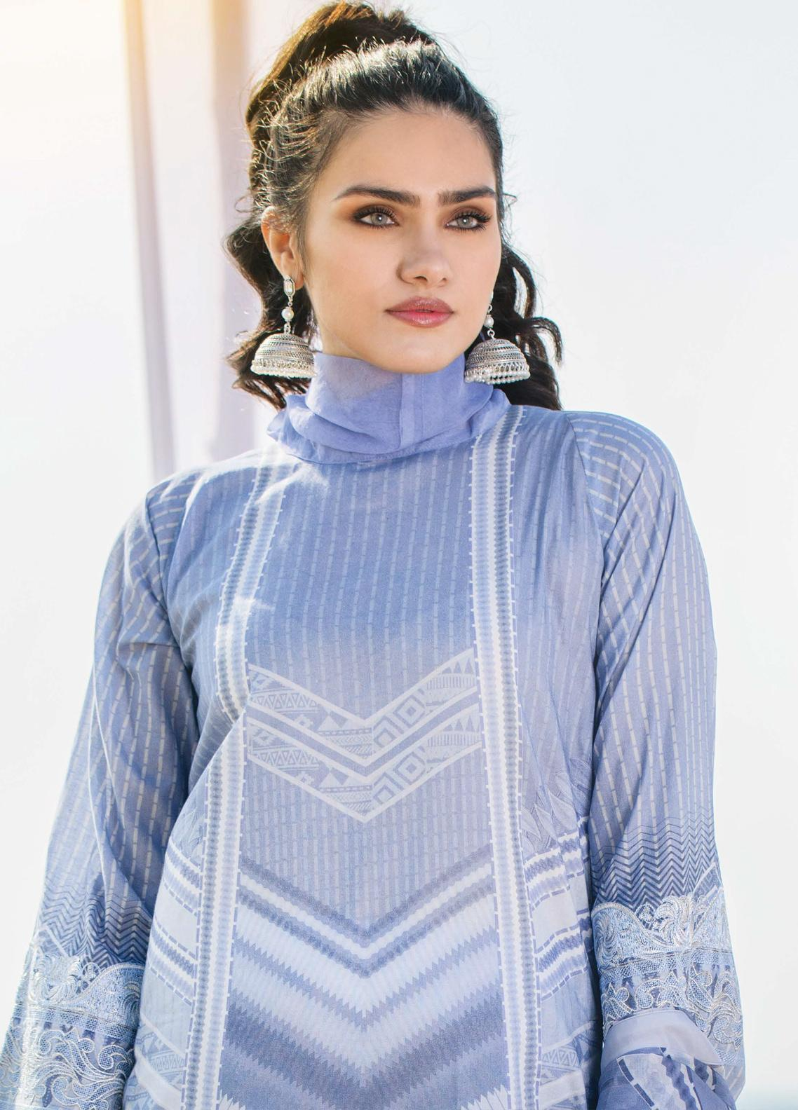 Allure by Mystique Embroidered Lawn Unstitched 3 Piece Suit MYS20A 05 - Spring / Summer Collection