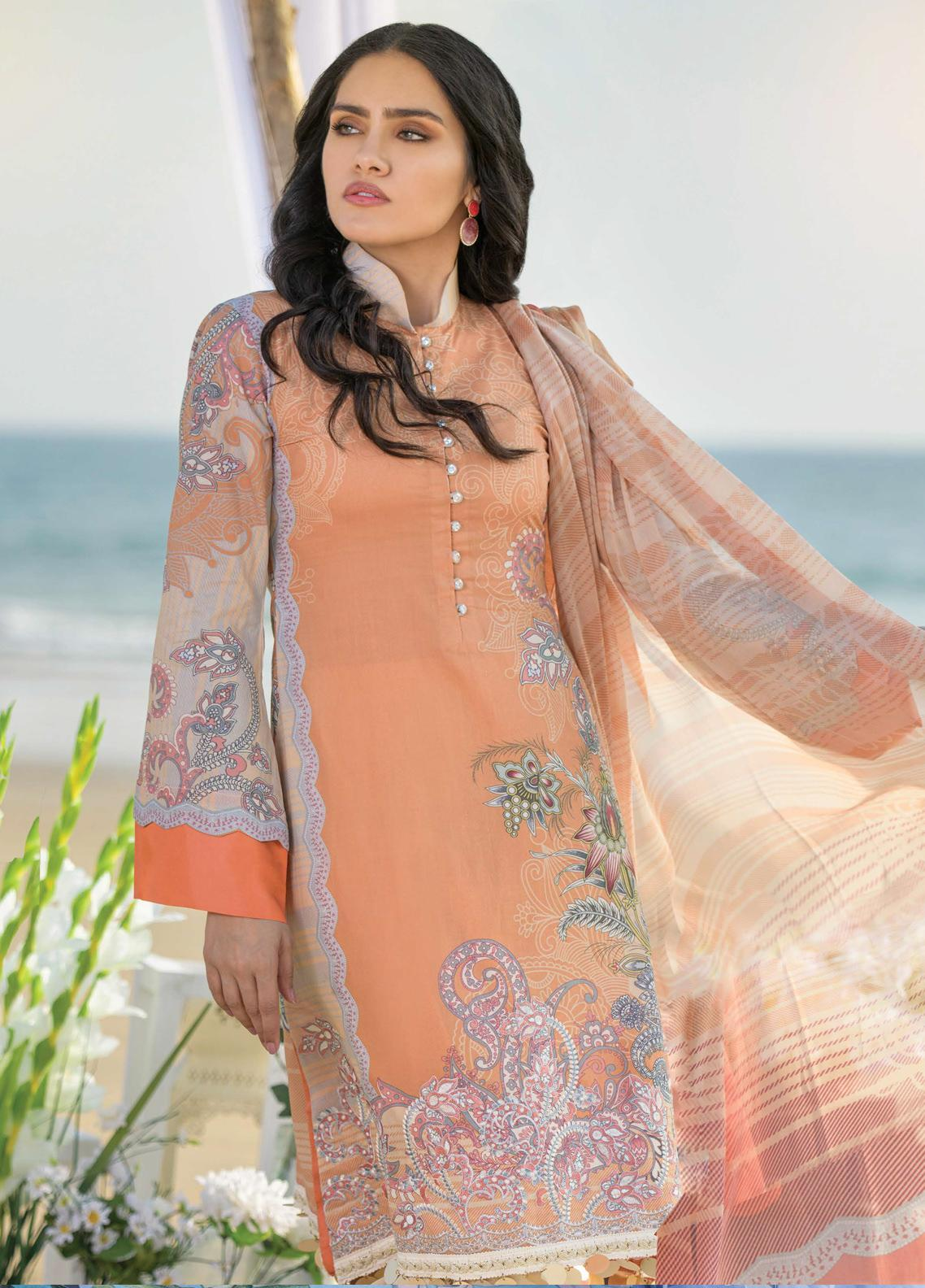 Allure by Mystique Embroidered Lawn Unstitched 3 Piece Suit MYS20A 06 - Spring / Summer Collection