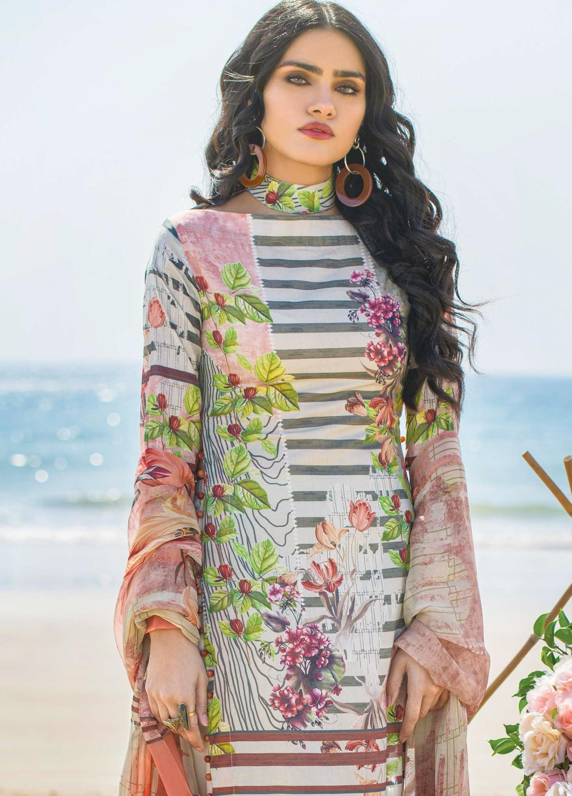 Allure by Mystique Embroidered Lawn Unstitched 3 Piece Suit MYS20A 10 - Spring / Summer Collection