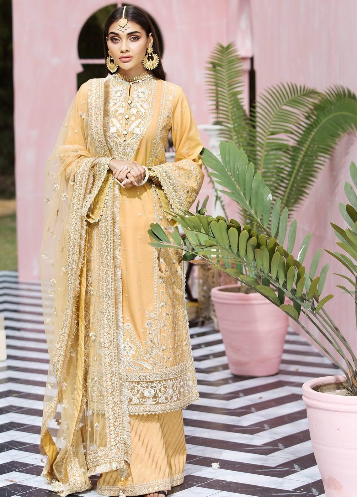 Anaya By Kiran Chaudhry Embroidered Lawn Suits Unstitched 3 Piece AK21KR 06-B PARISA - Summer Collection