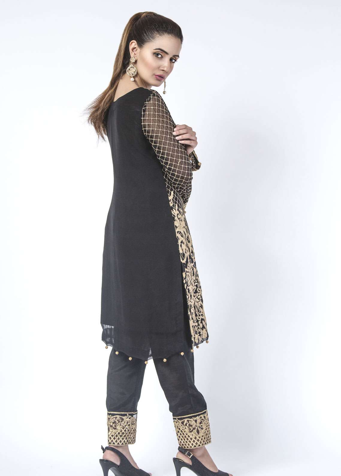 Anahi by Gulaal Embroidered  Stitched Kurtis ANG18E 03
