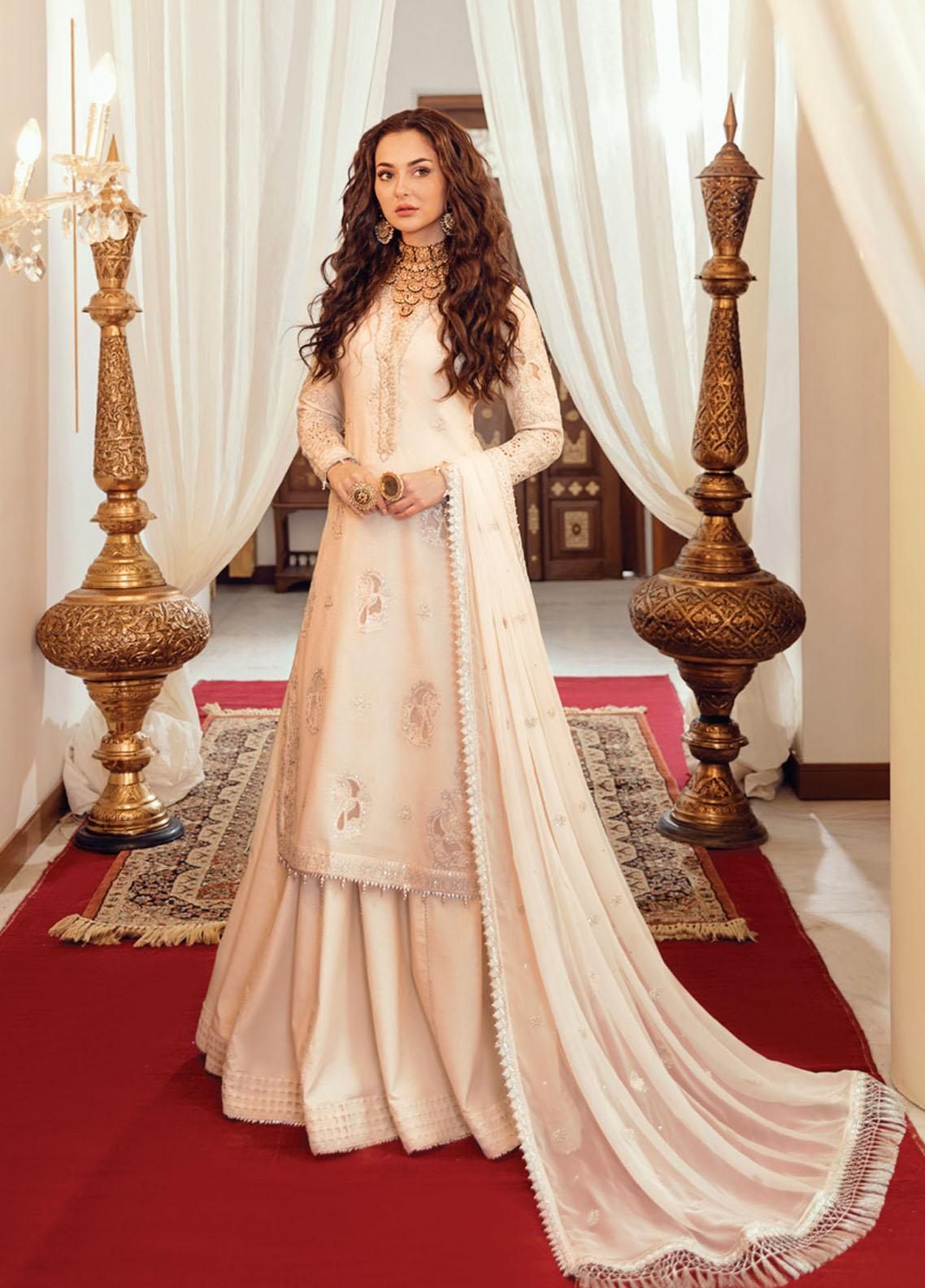 Rabt By Asim Jofa Embroidered Lawn Suits Unstitched 3 Piece AJ21RL 12 - Luxury Collection
