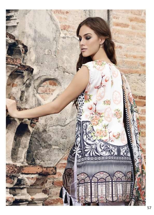 Al Zohaib Printed Digital Cotton Unstitched 3 Piece Suit AZ17S 10