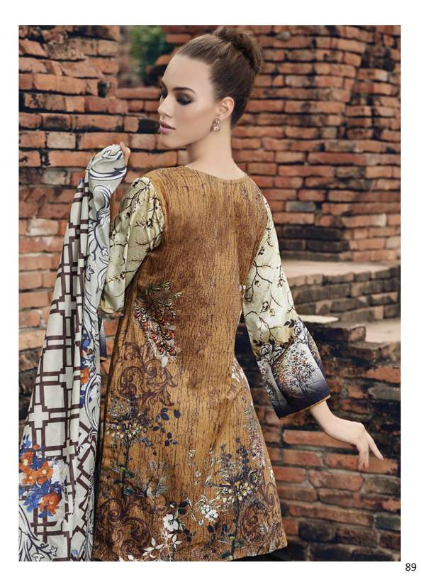 Al Zohaib Printed Lawn Unstitched 3 Piece Suit AZ17S 16