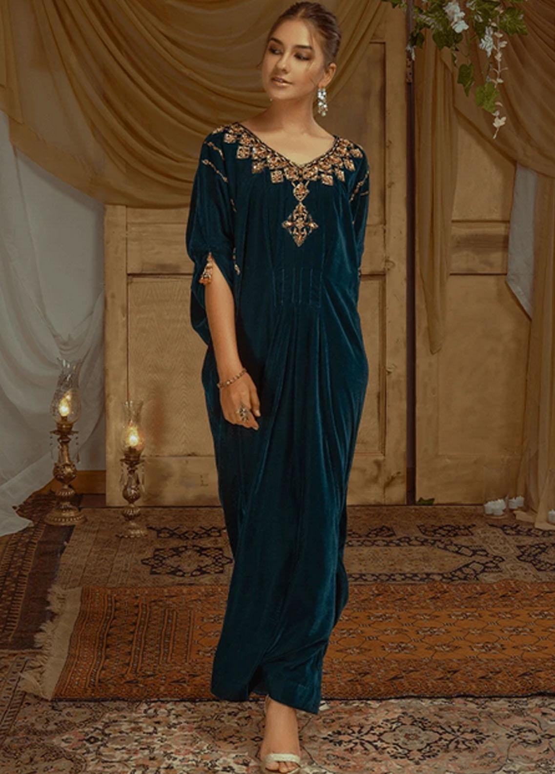 Zaaviay Pret Luxury Velvet Shirt ZV21BM ZVB-005 Norah