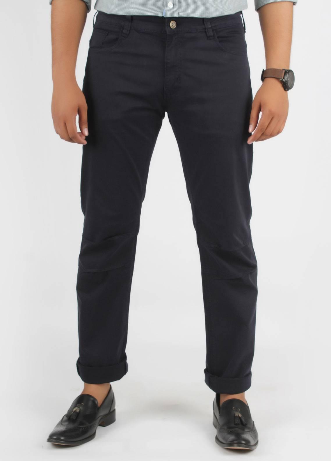Bien Habille Cotton Casual Men Jeans -  Black