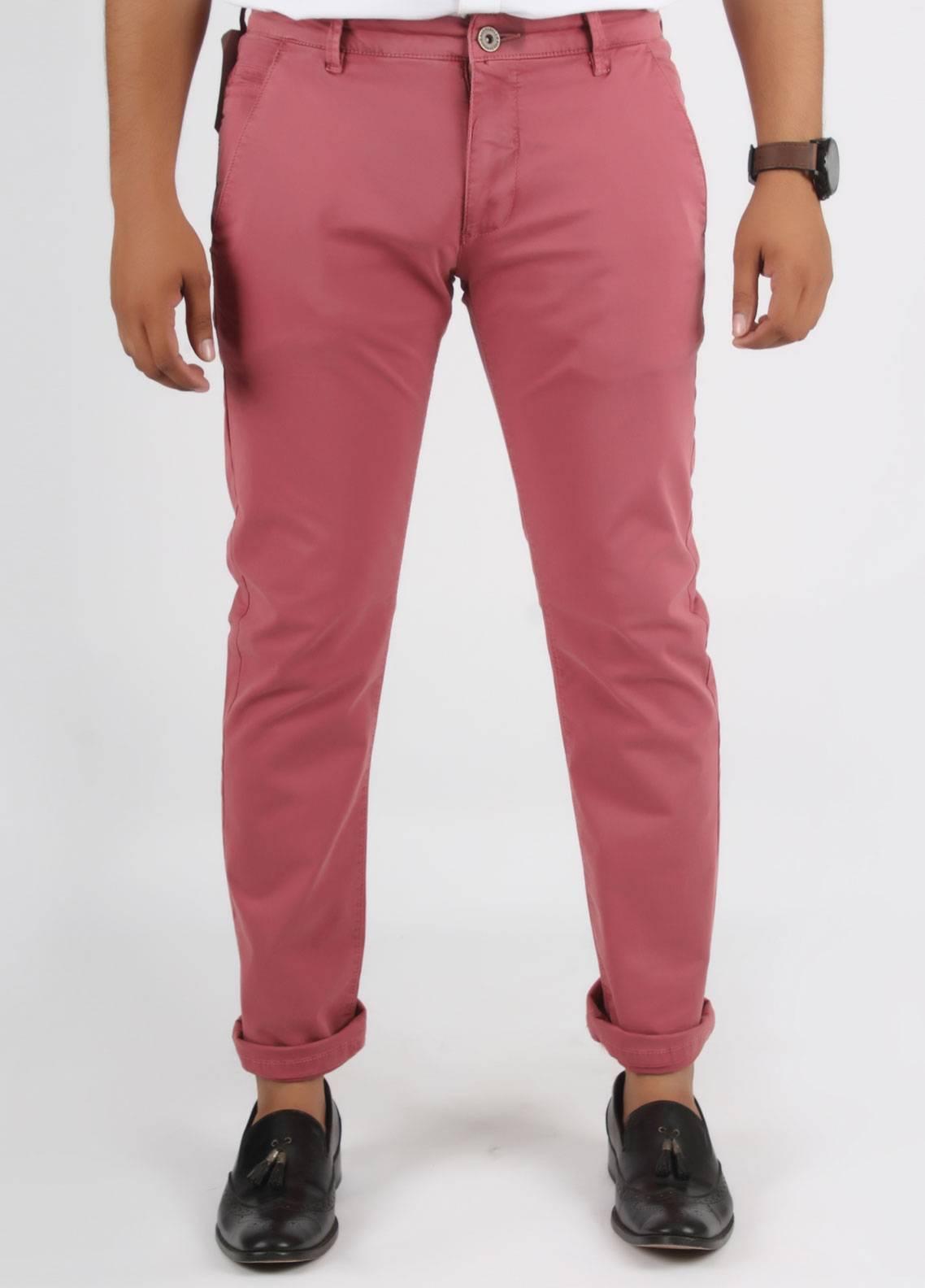 Bien Habille Cotton Casual Jeans for Men -  Tea Rose