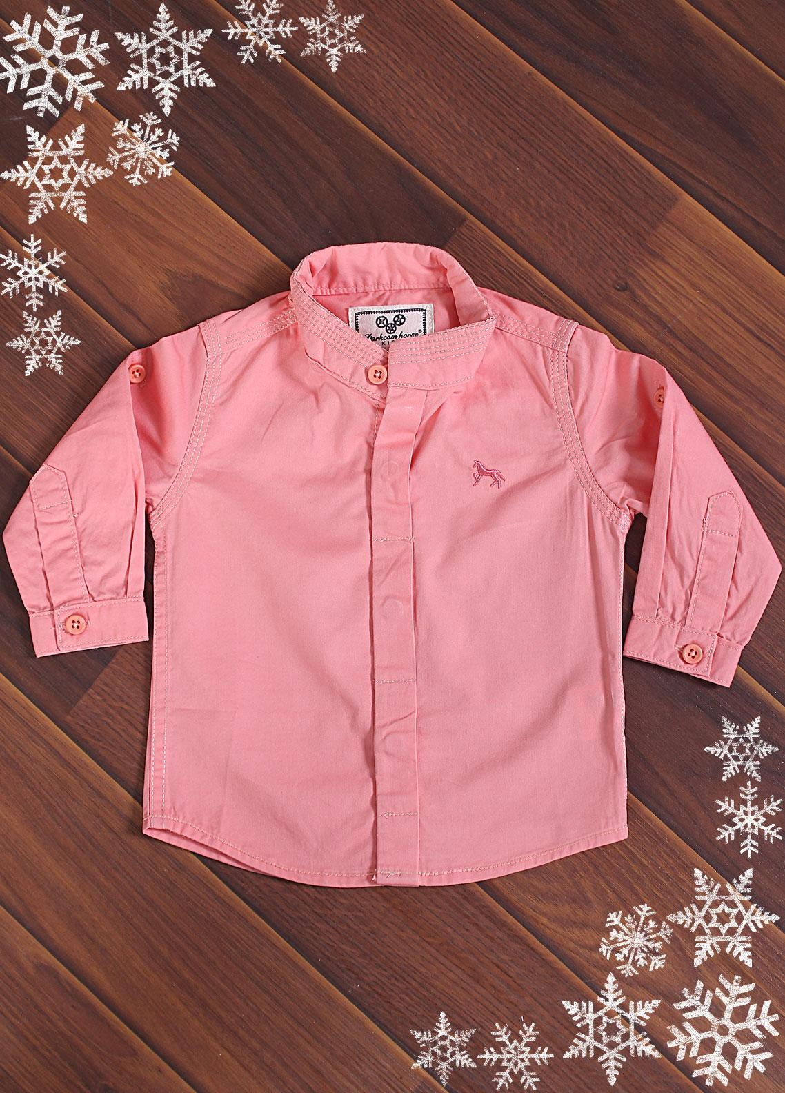Sanaulla Exclusive Range Cotton Casual Shirts for Boys -  DS042A Pink