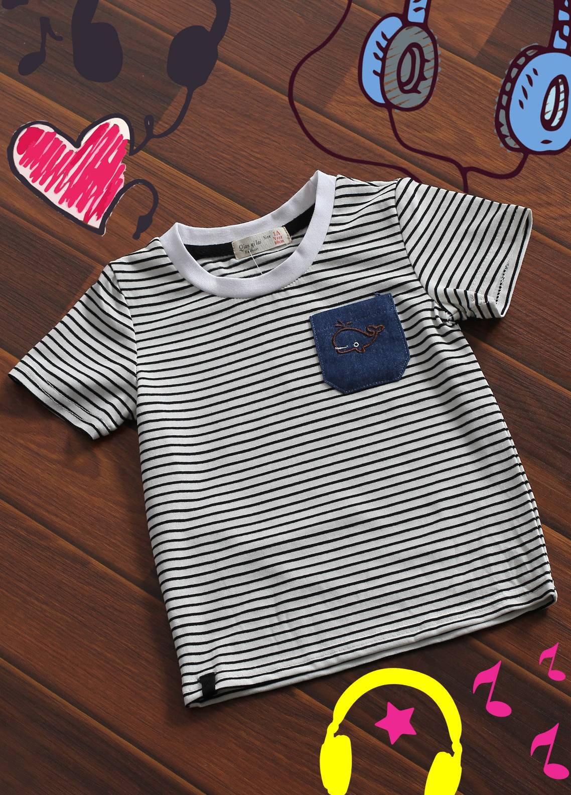 Sanaulla Exclusive Range Cotton Printed Boys T-Shirts -  32 Off-White