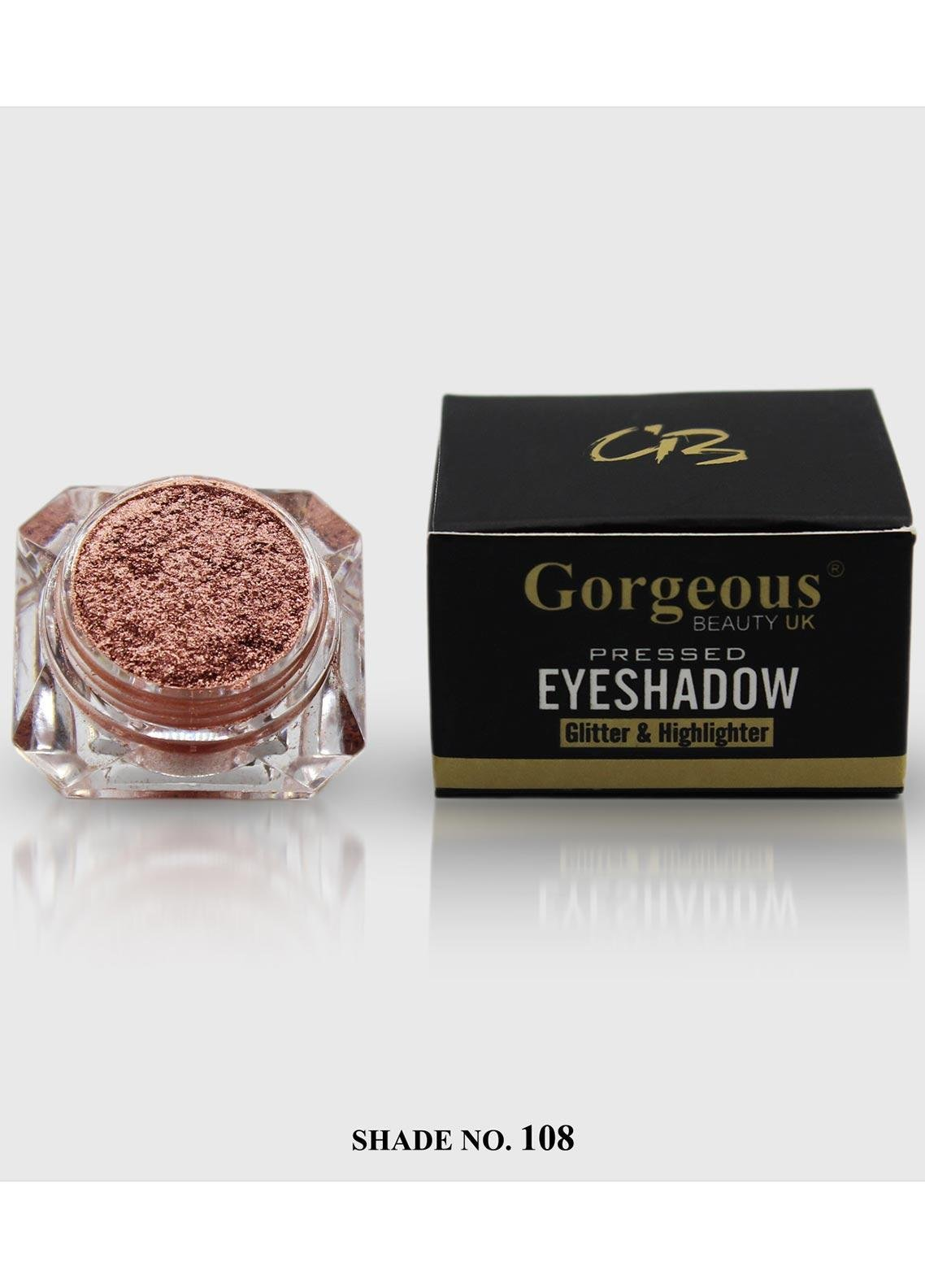 Pressed Eye Shadow Glitter & Highlighter-108