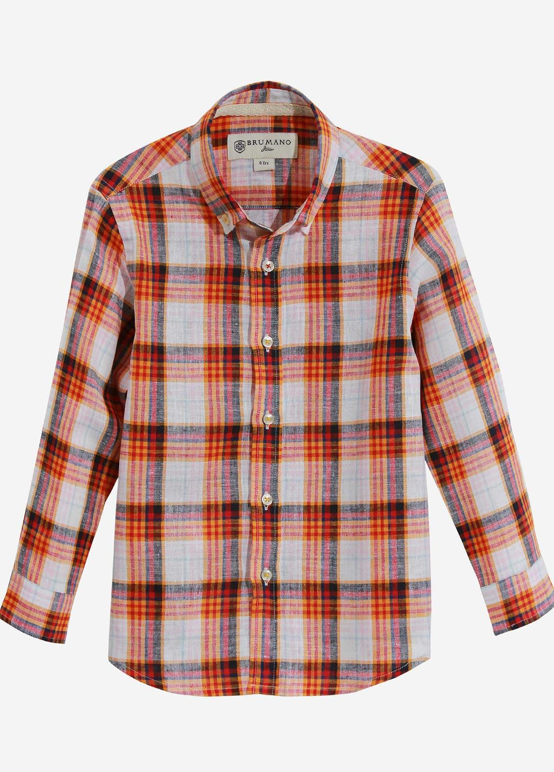 Brumano Cotton Casual Shirts for Boys -  BRM-1007