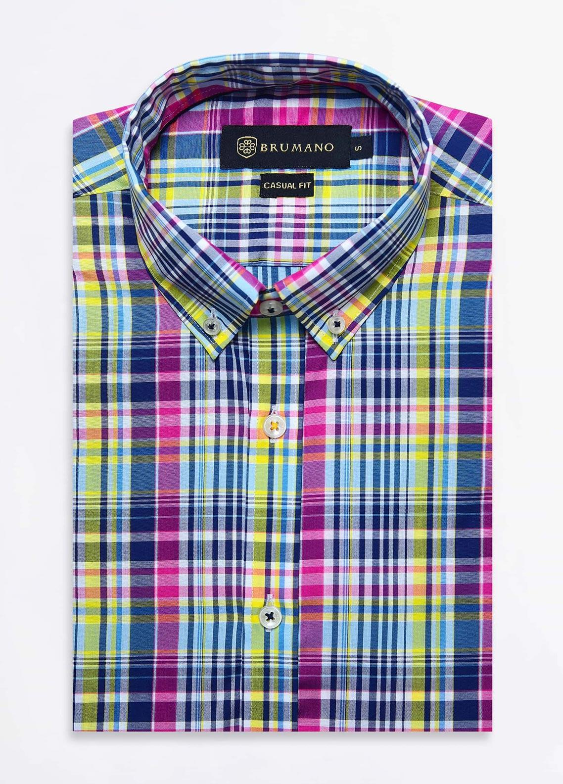 Brumano Cotton Formal Shirts for Men -  BRM-1021