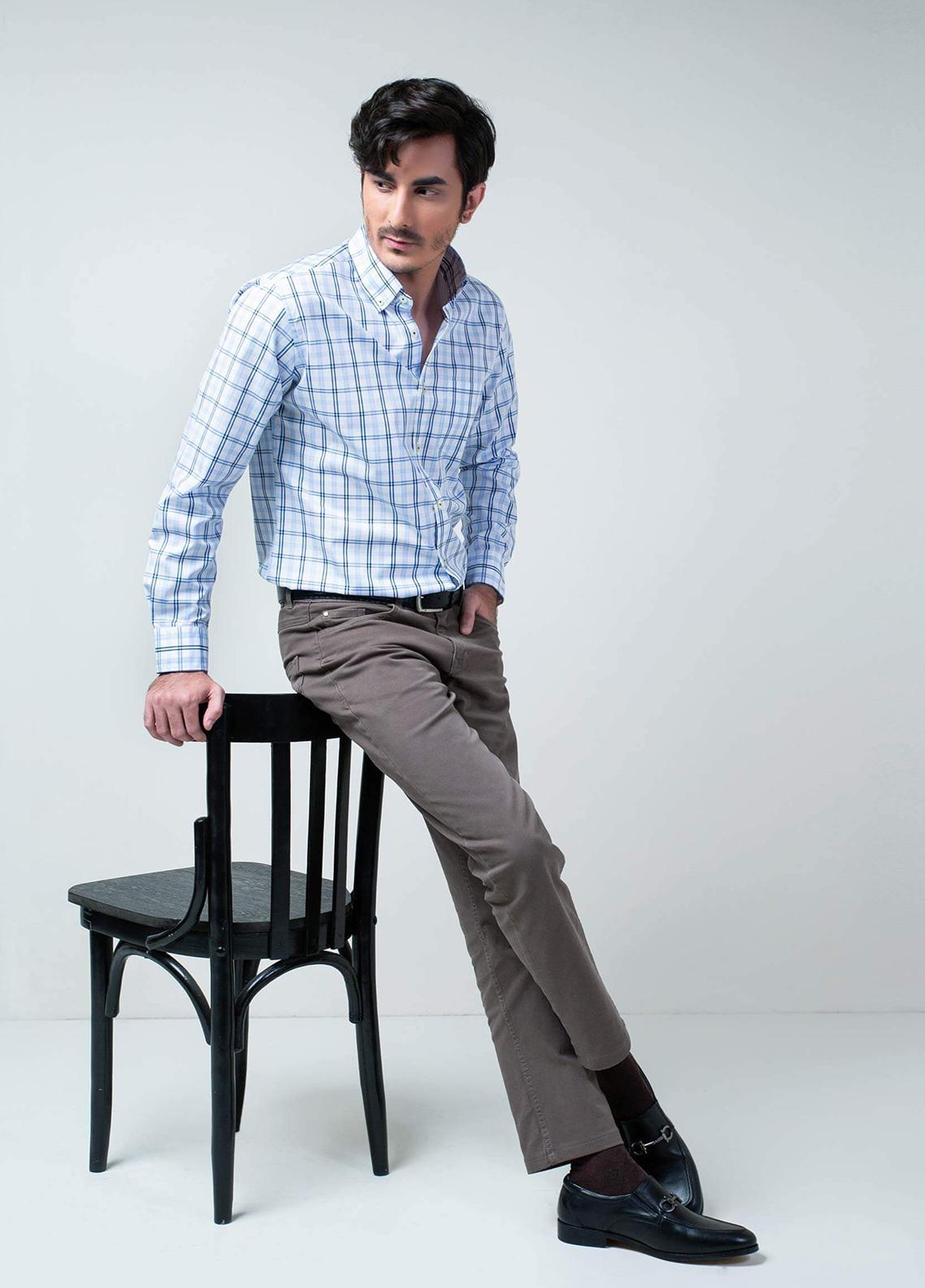 Brumano Cotton Formal Shirts for Men - BRM-1031