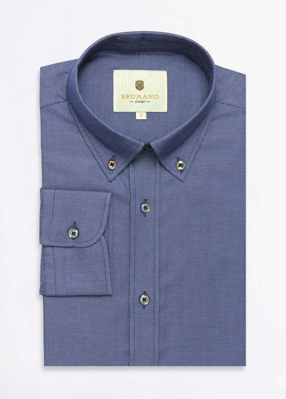 Brumano Cotton Formal Men Shirts -  BRM-593