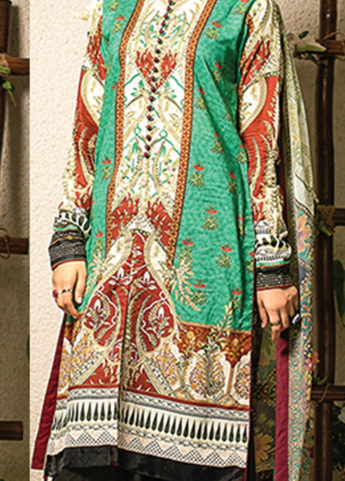 Change Printed Lawn Unstitched 2 Piece Suit CG20I CL-007 - Spring / Summer Collection