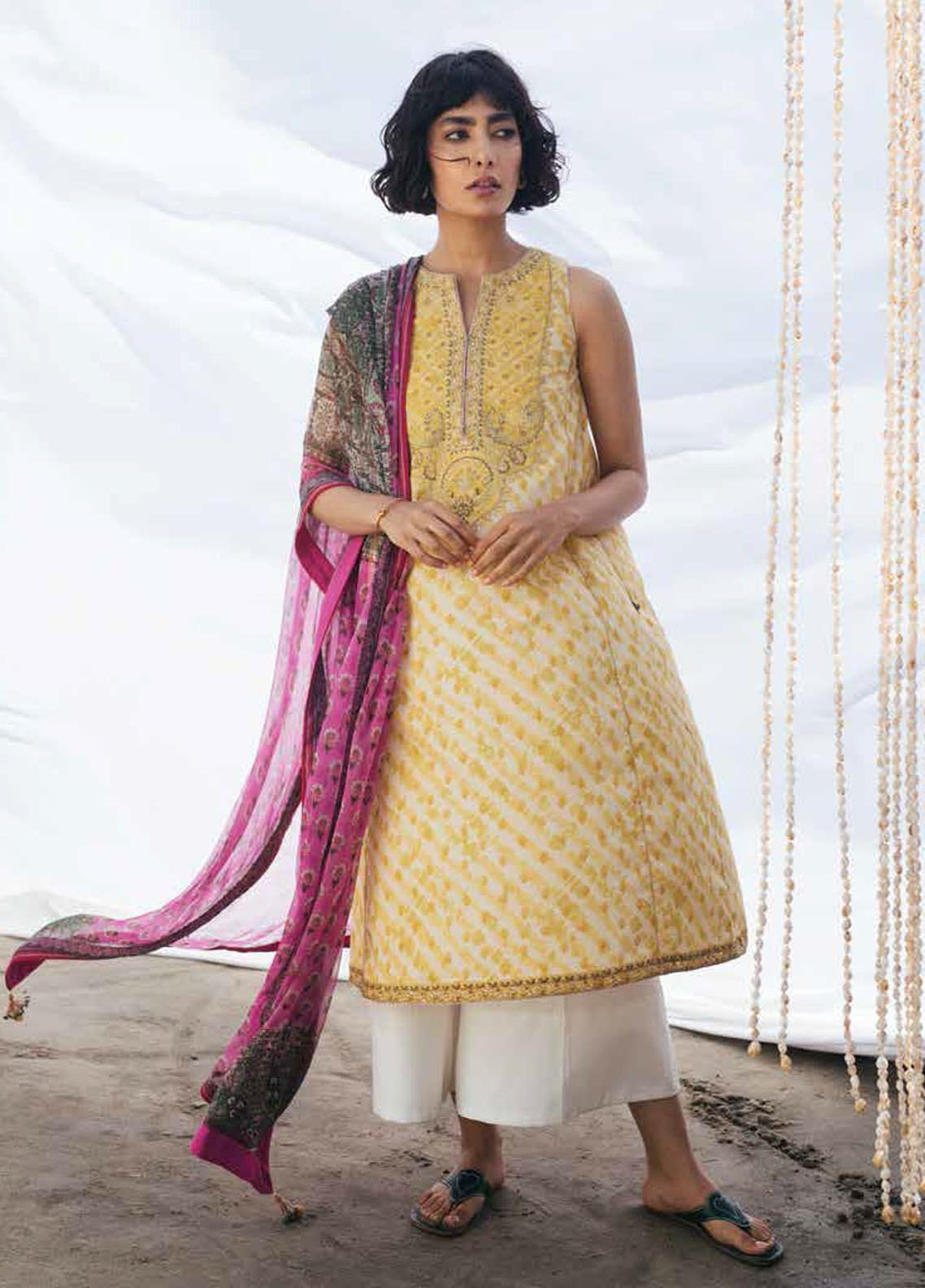 Coco By Zara Shahjahan Embroidered Lawn Suits Unstitched 3 Piece CZS20L 2-B - Spring/Summer Collection