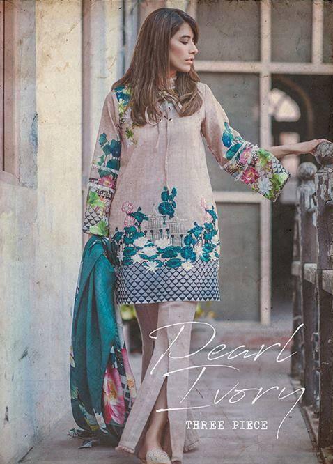 Cross Stitch Embroidered Khaddar Unstitched 3 Piece Suit CS17WK 06