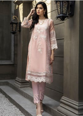 Azure AZU21-FK2 Melon Glow Check Formal Kurti