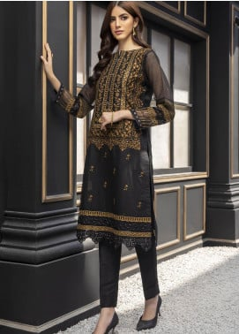 Azure AZU21-FK2 Moroccan Beauty Stripe Formal Kurti