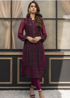 Azure AZU21-FK2 Night Fairy Chiffon Formal Kurti