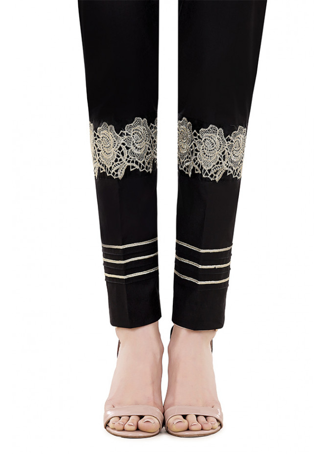 Gulaal Embroidered  Stitched Trouser GL17T 01