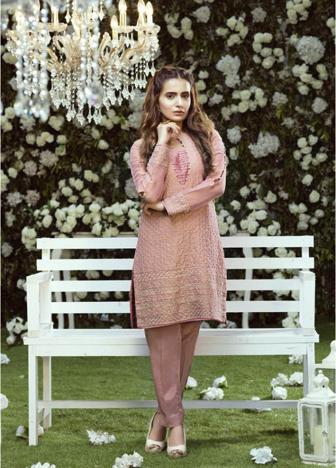 Anahi by Gulaal Embroidered Cotton Net Stitched Kurtis GLP17K 11B