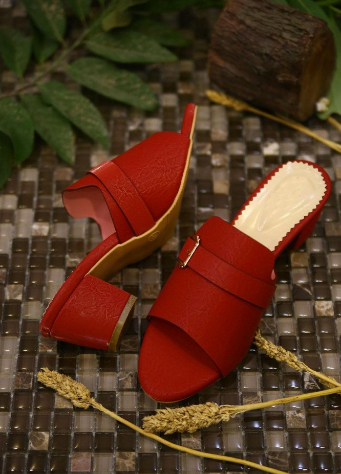 1st Sight Fashion Formal Style  Heel  Style & Style 6 Red