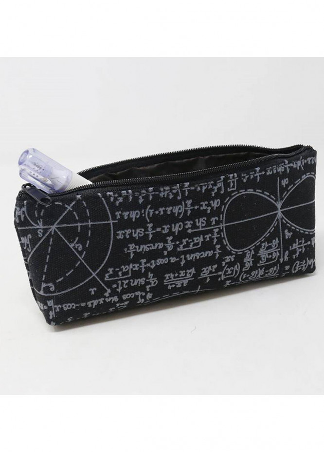 LEARNING NOTES PENCIL CASE-BLACK