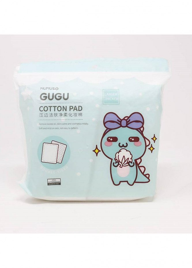 Mumuso GUGU 100PCS SOFT SKIN CLEANSING COTTON PAD