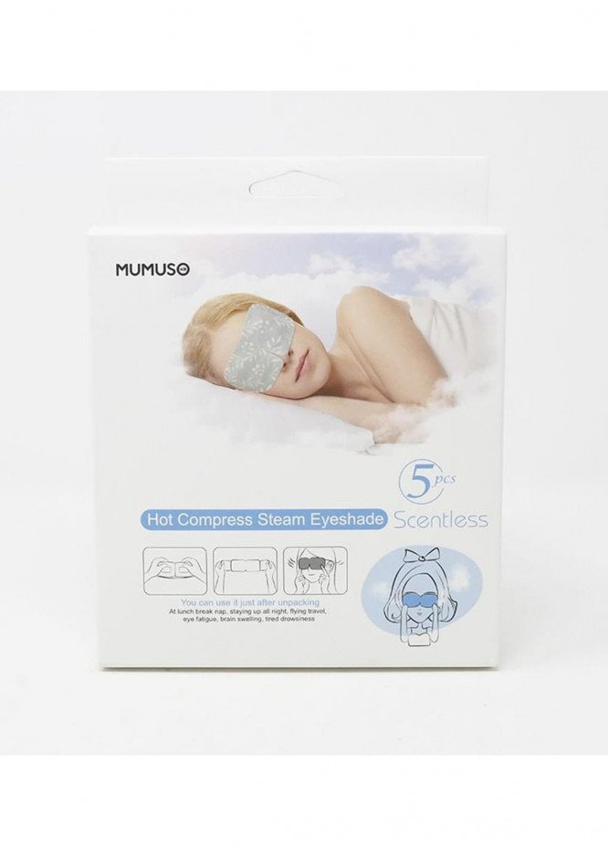 Mumuso Hot Compress Steam Eyeshade (5pcs-Scentless)