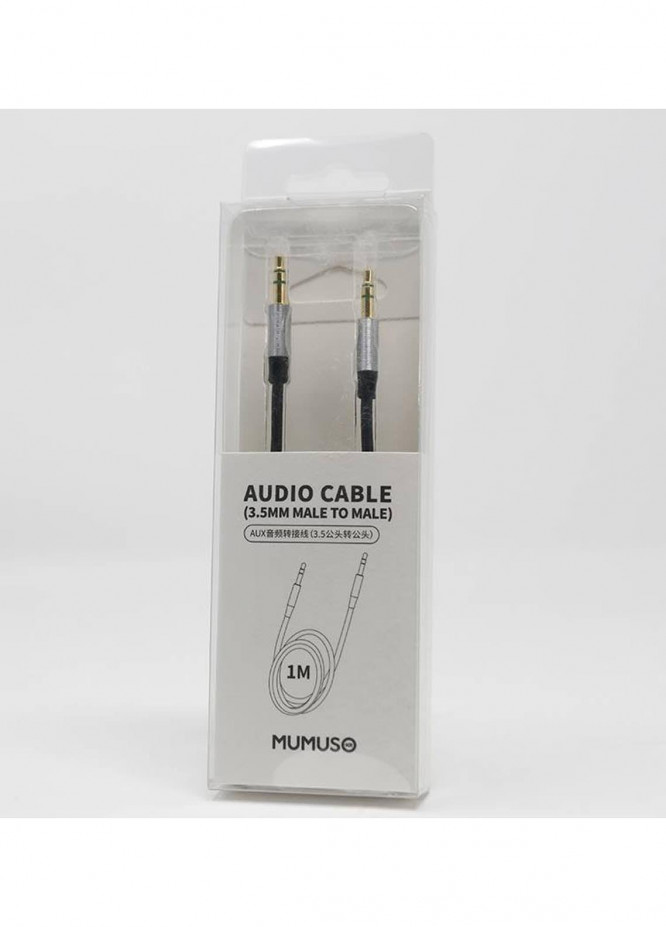 Mumuso AUDIO CABLE (3.5MM MALE TO MALE)