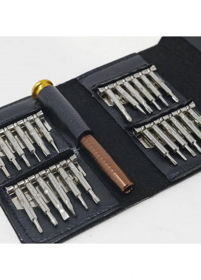 Mumuso 25 IN 1 SCREWDRIVER SET WITH LEATHER BAG