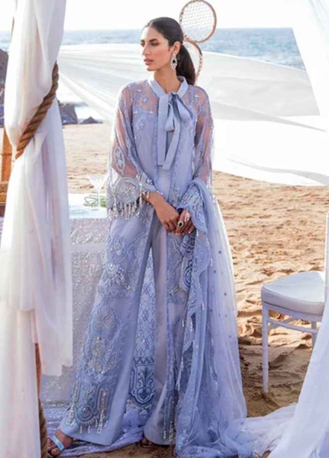 Amiraa by Reign Embroidered Net Suits Unstitched 3 Piece RGN21AM RN-09 IDEH-A - Luxury Collection