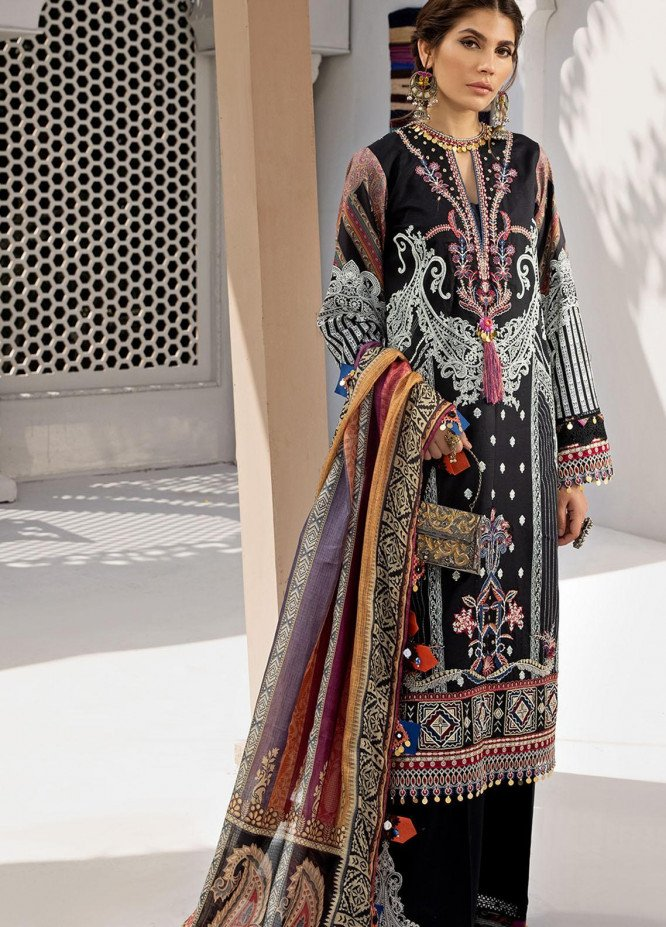Anaya By Kiran Chaudhry Embroidered Lawn Suits Unstitched 3 Piece AKC21E AE21-05 SOHA - Luxury Collection
