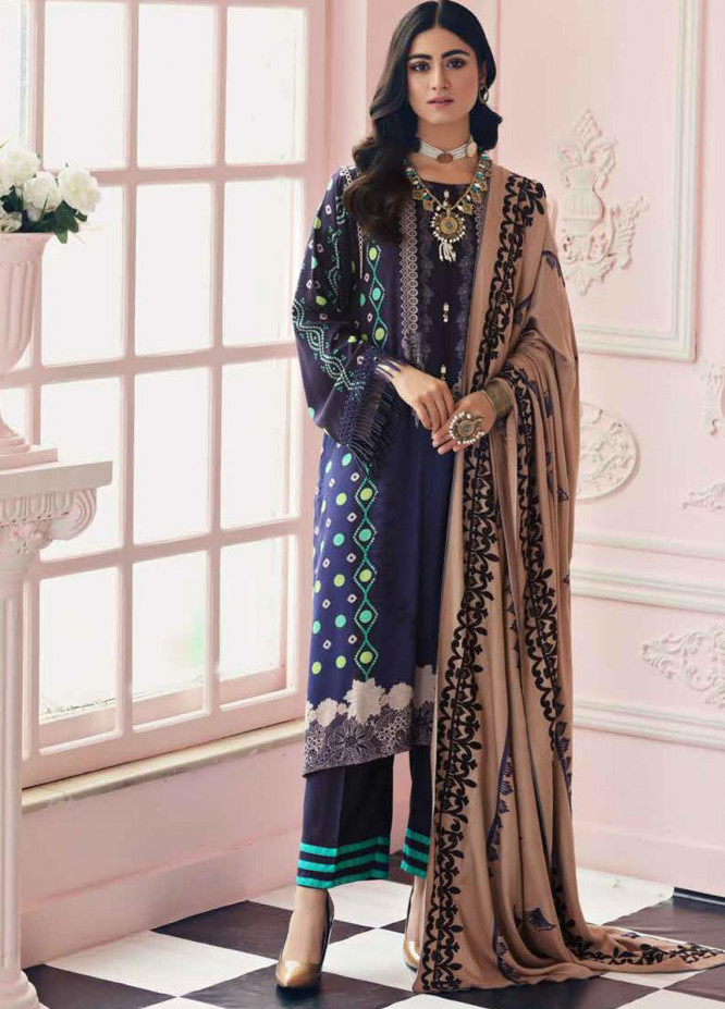 Charizma Embroidered Kotail Suits Unstitched 3 Piece CRZ21AK ANW-01 - Winter Collection